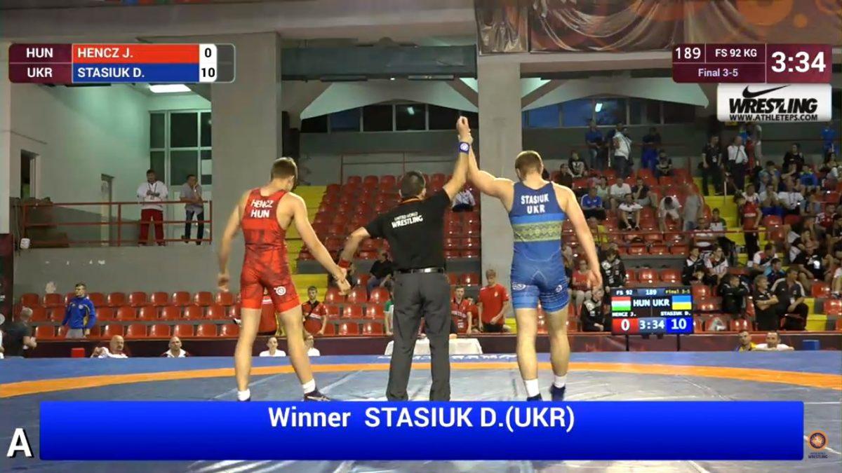 Данило Стасюк – бронзовий призер чемпіонату Європи серед кадетів