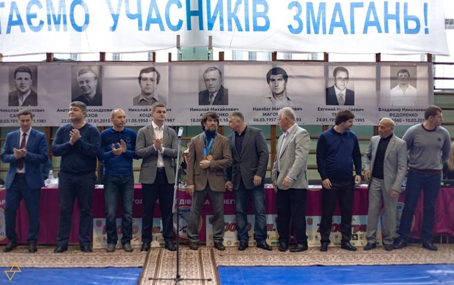 На Запоріжжі вшанували борців-ветеранів