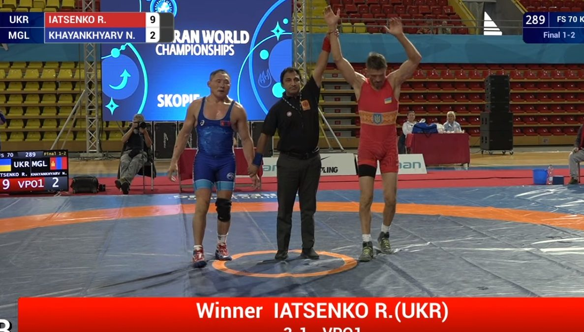 Роман Яценко – чемпіон світу серед ветеранів