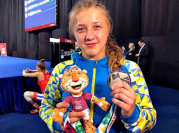 Оксана Чудик – віце-чемпіонка юнацької Олімпіади!!!