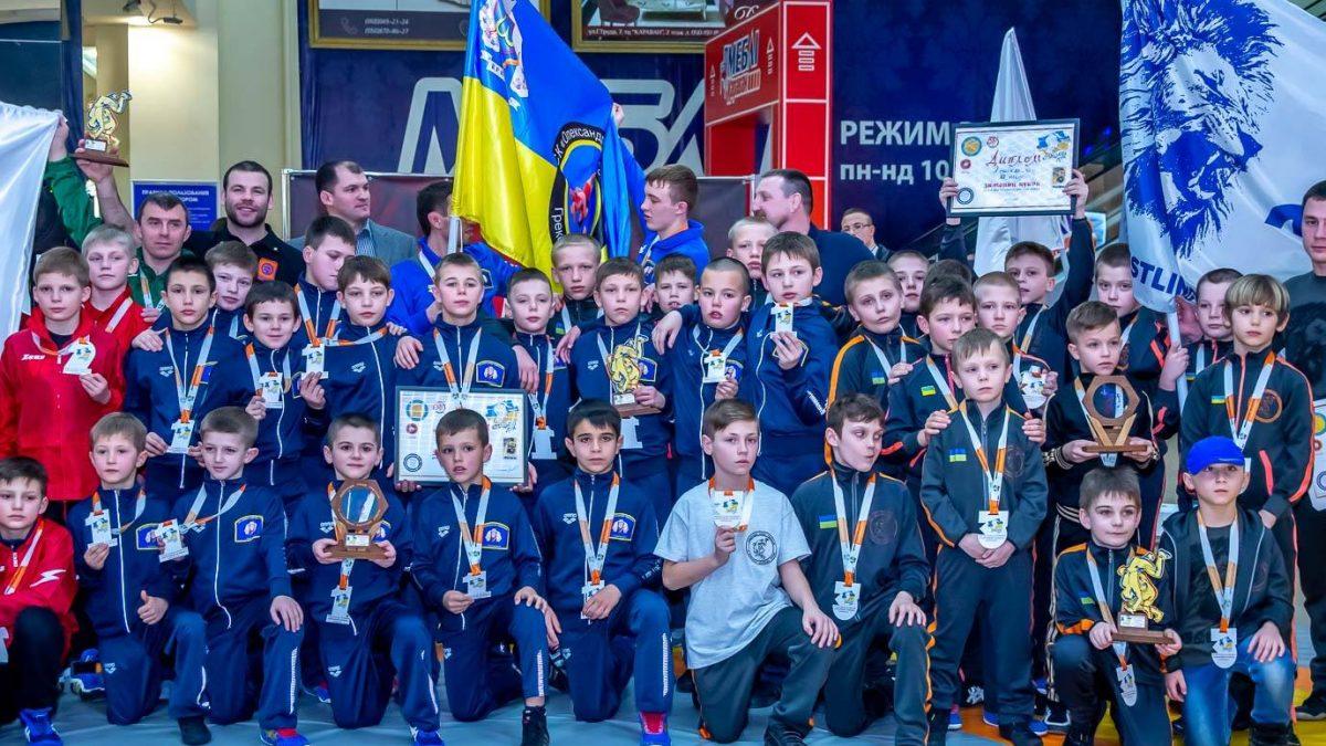 Зимовий Кубок Дитячої Ліги боротьби
