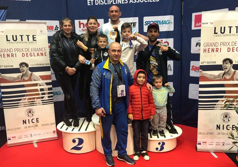 Валерій Андрійцев – переможець Гран-прі Франції