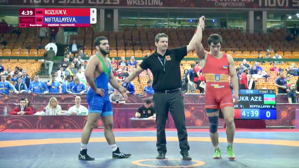 А. Політаєв і В. Козлюк – бронзові призери ЧЄ з греко-римської боротьби U-23 (відео)