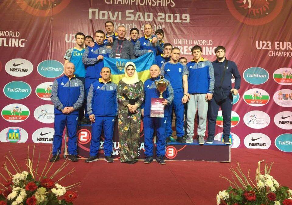 Чемпіонат Європи U23 – вільники треті в загальному заліку!