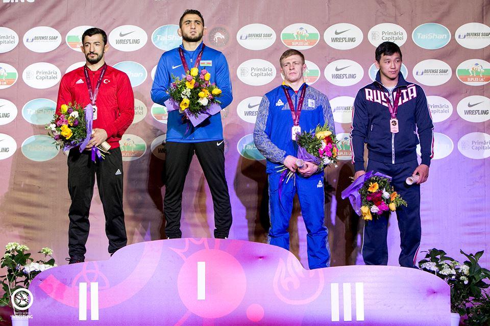 Василь Шуптар – бронзовий призер чемпіонату Європи!
