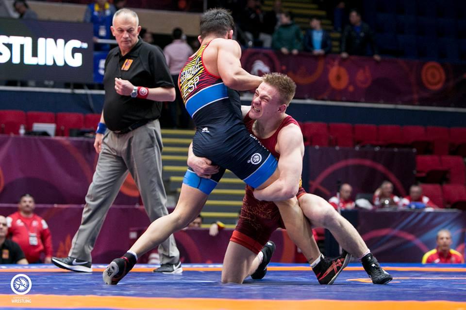 Кращі сутички чемпіонату Європи – вільна боротьба