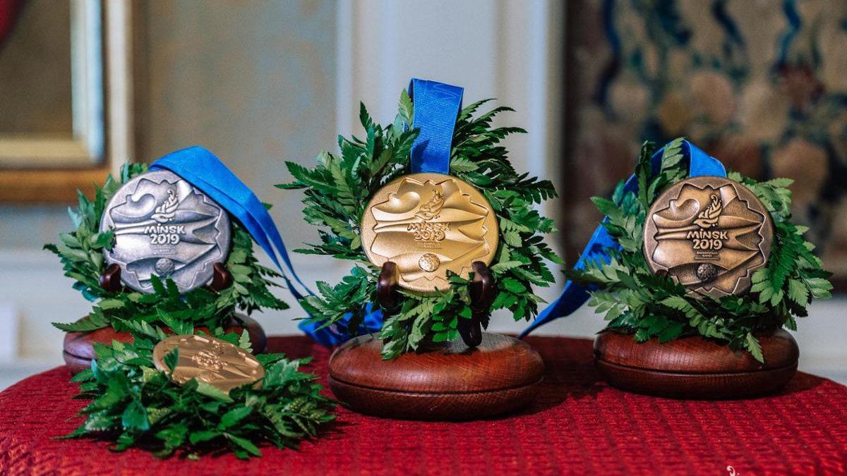 Презентовано медалі ІІ Європейських ігор