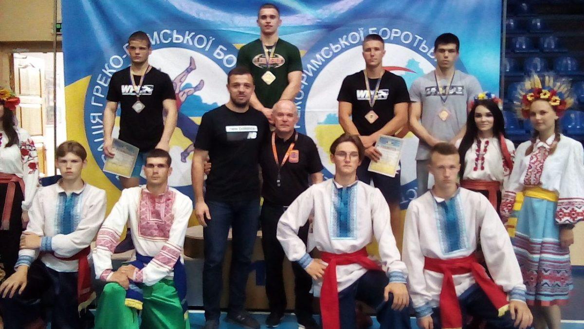 Результати Чемпіонату України з греко-римської боротьби U-23