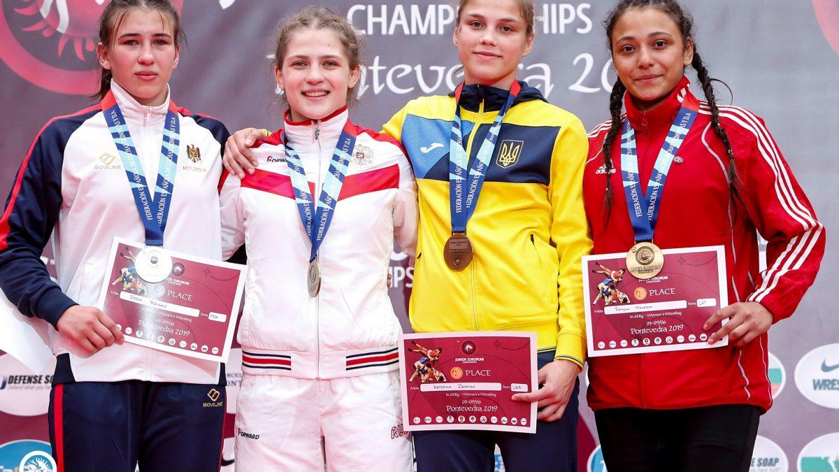 Катерина Зелених здобула бронзу чемпіонату Європи серед молоді