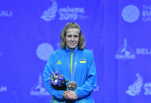 Алла Черкасова – бронзова призерка ІІ Європейських Ігор!