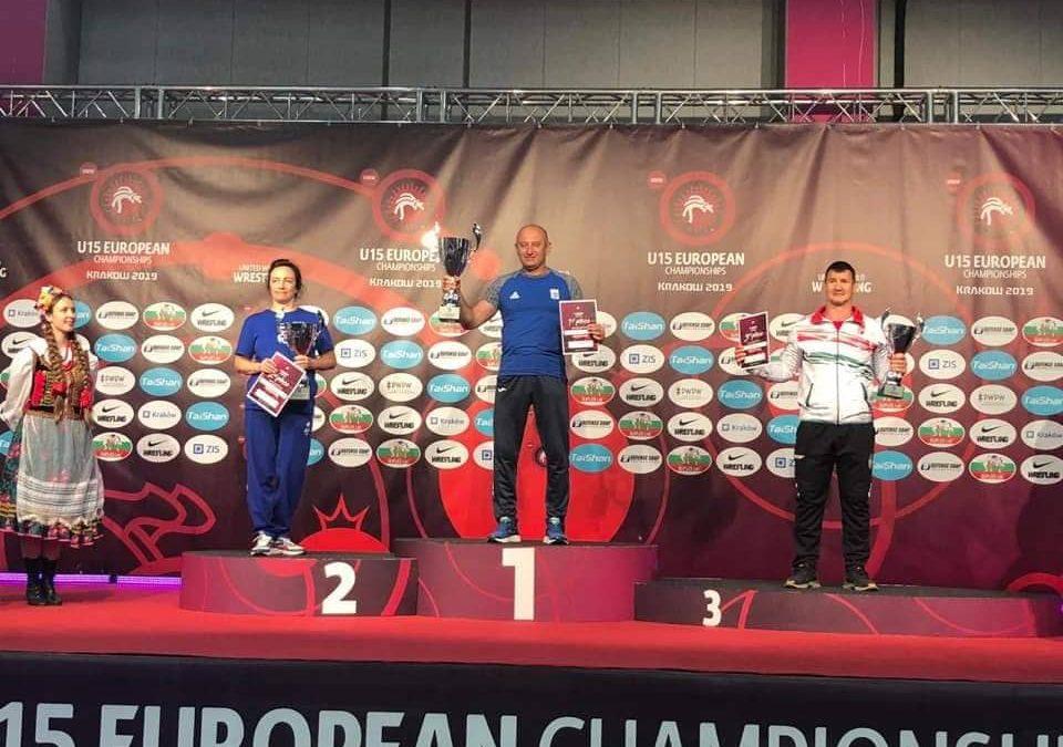 Чемпіонат Європи U15 – дівчата перші в командному заліку!