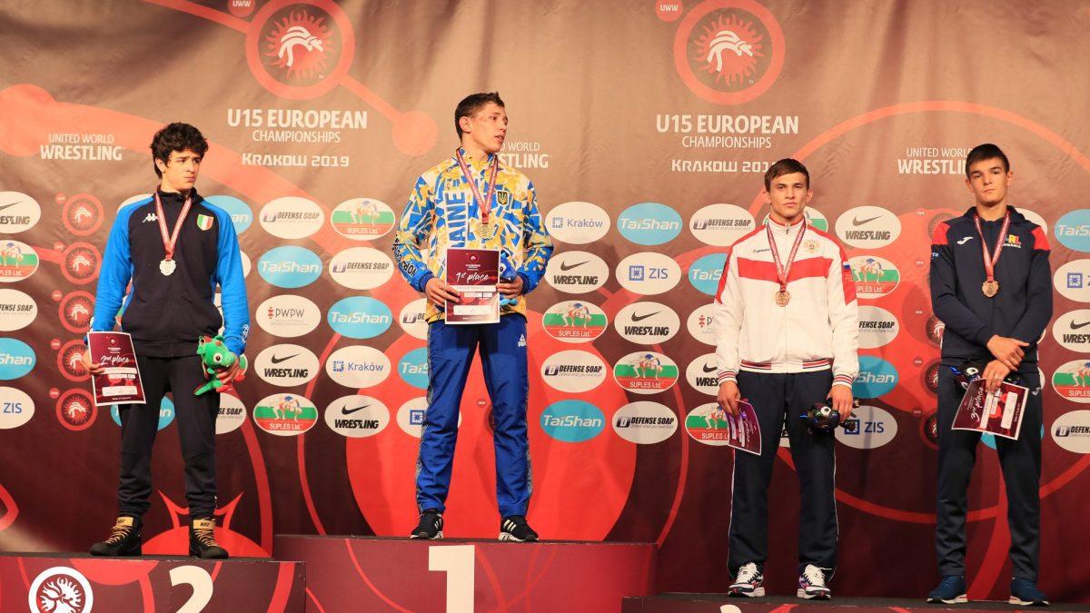 Чемпіонат Європи U15 – результати вільна боротьба