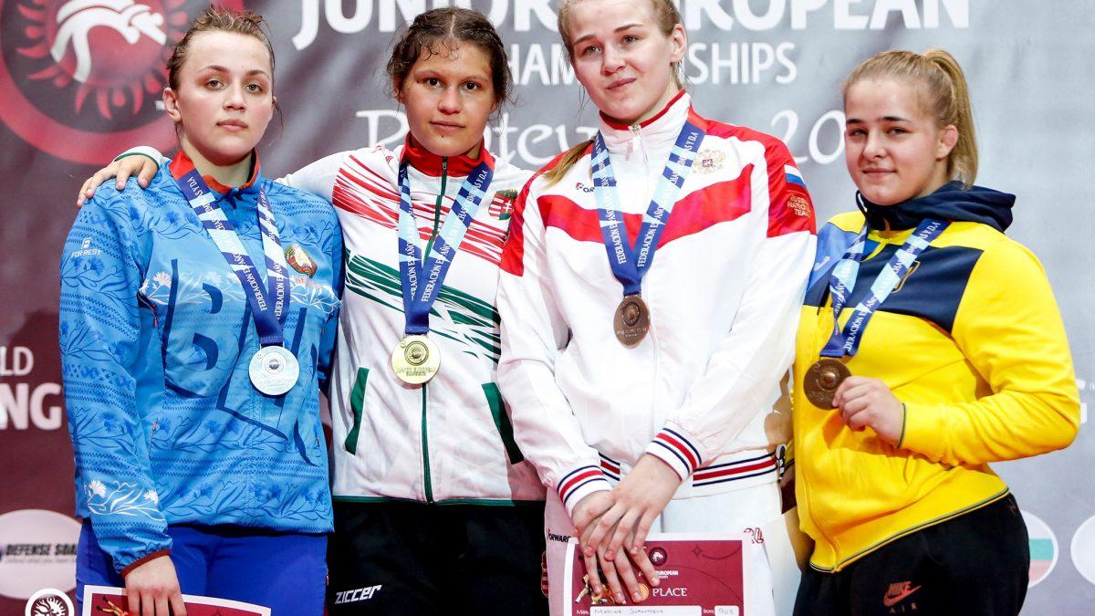 Романа Вовчак – третя на чемпіонаті Європи серед молоді