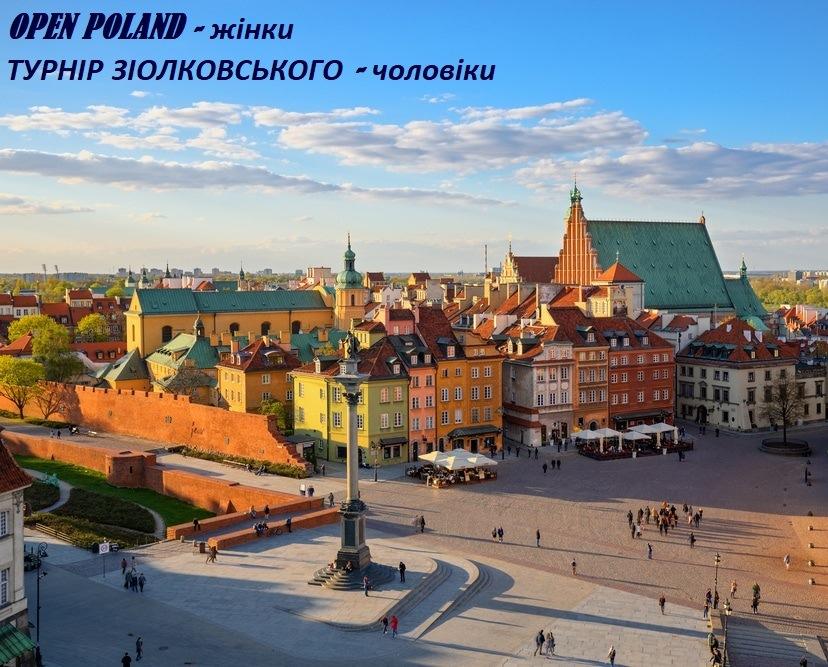 Склад команди на турніри в Польщі