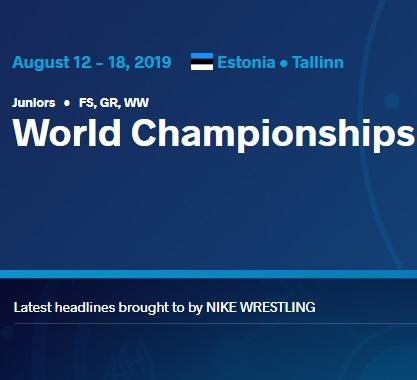 Склад команди на чемпіонат світу серед юніорів