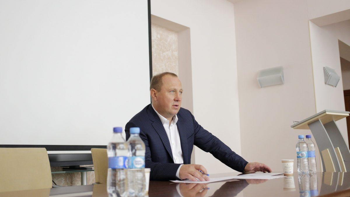Президент ФГРБУ провів робочу нараду в Кременчуці