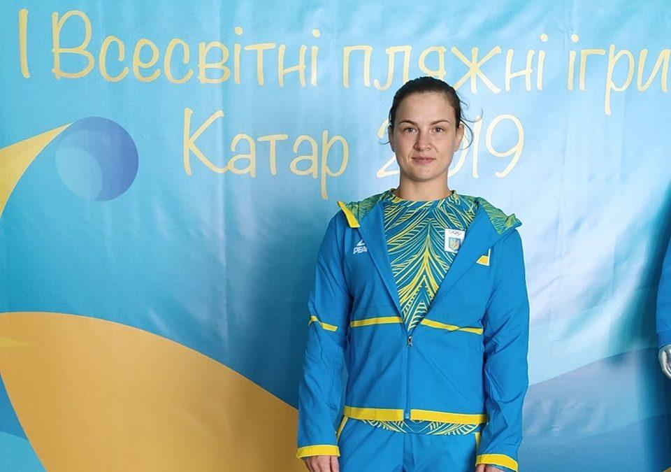 Аліна Бережна віце-чемпіонка Всесвітніх пляжних Ігор