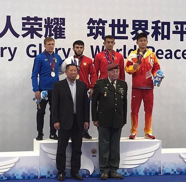 Василь Шуптар – віце-чемпіон Всесвітніх Ігор військовослужбовців