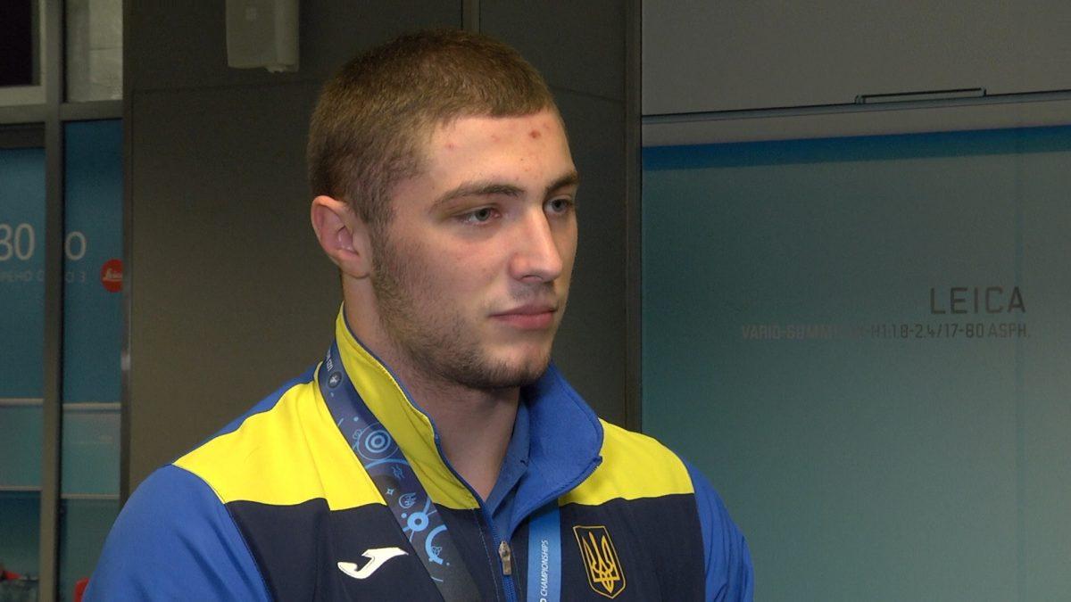 """Данило Стасюк: """"Є бронзу, потрібно йти до золота """""""