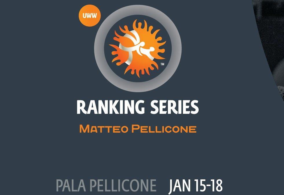 Склад команди з вільної боротьби на рейтинговий турнір в Римі