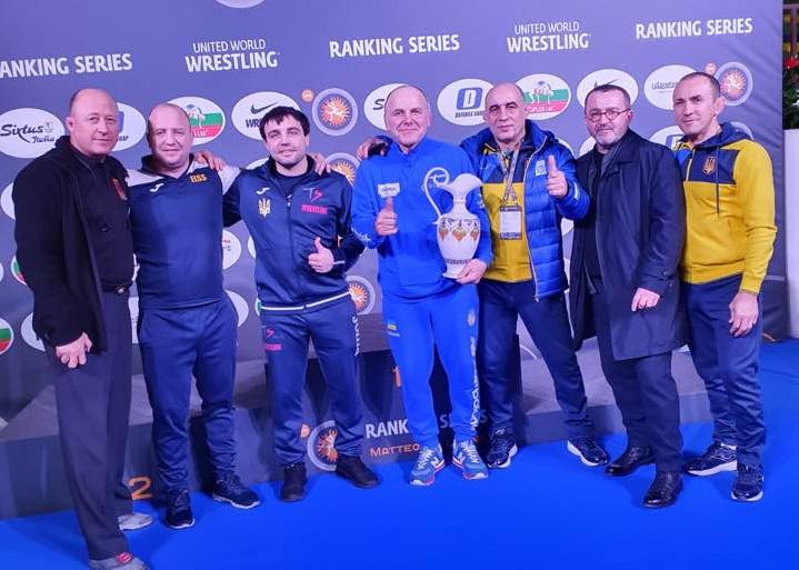 Василь Михайлов – чемпіон рейтинговго турніру в Римі! Вільники – другі в командному заліку!