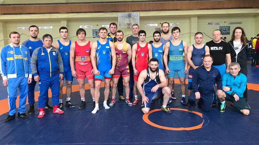 Склад збірної з греко-римської боротьби на Чемпіонат Європи 2020