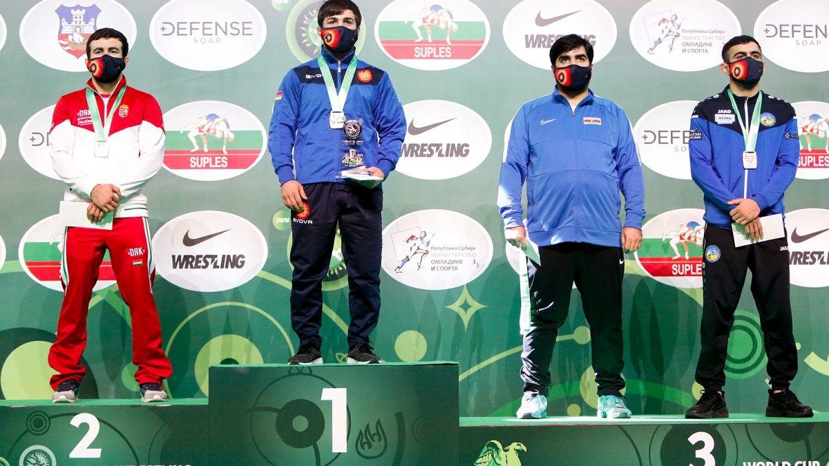 Гор Оганесян – бронзовий призер Індивідуального Кубку світу!
