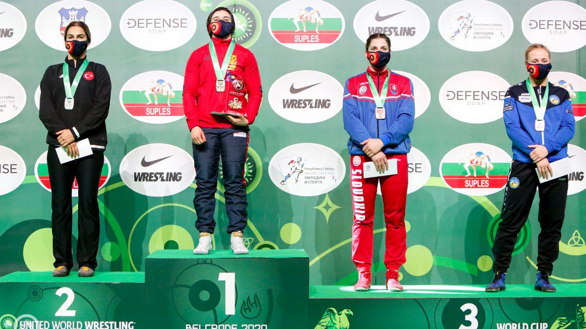 Алла Белінська – бронзова призерка Індивідуального Кубку світу