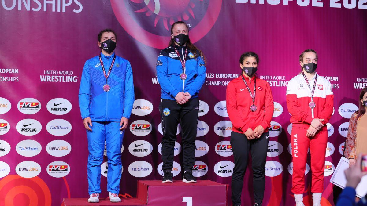 Оксана Чудик – чемпіонка Європи U23