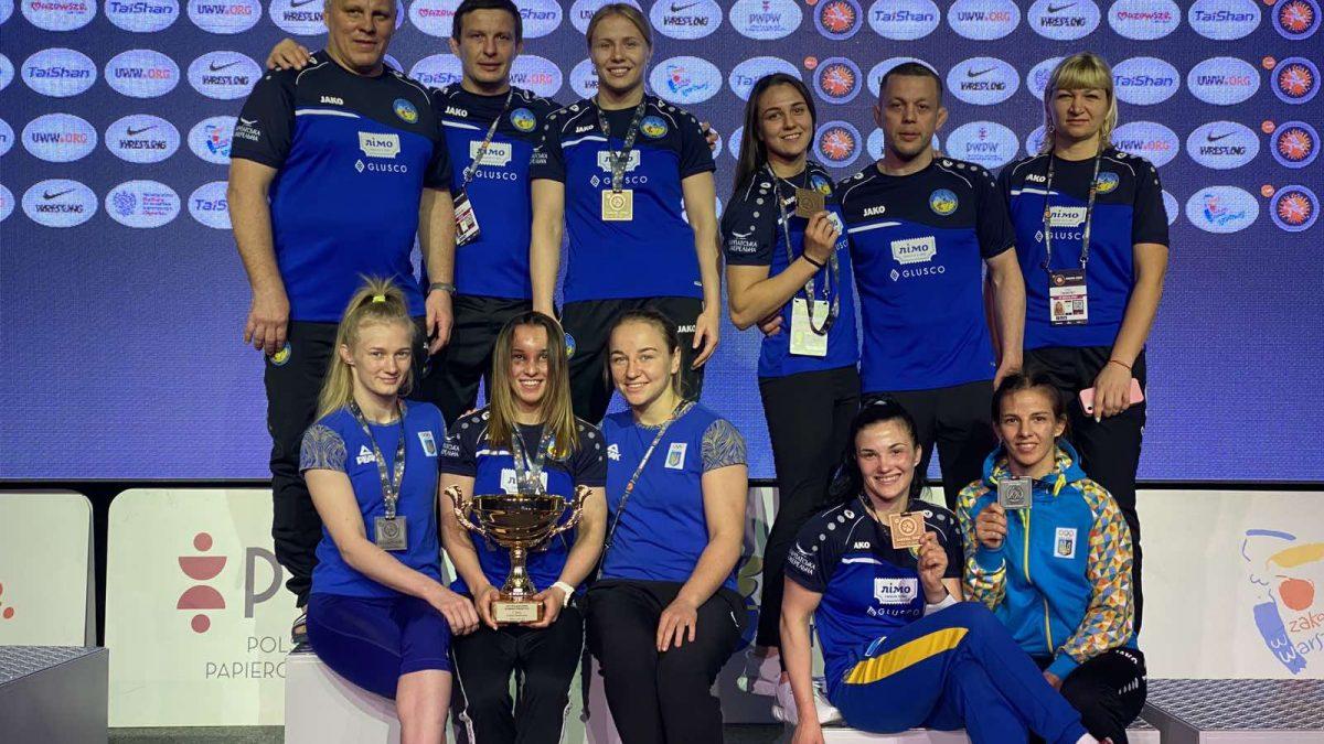 Жіноча зібрна України – перша на Open Poland