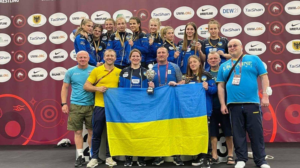 Україна перша в командному заліку на ЧЄ серед юніорок