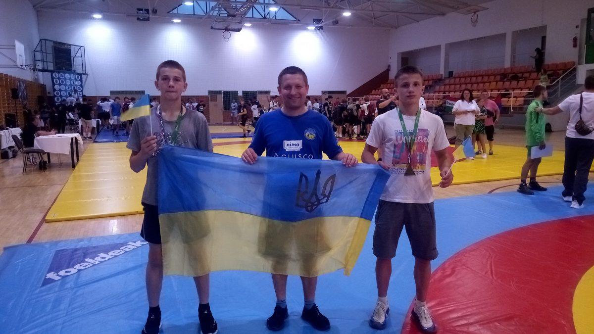 Юні тернополяни здобули медалі в Угорщині