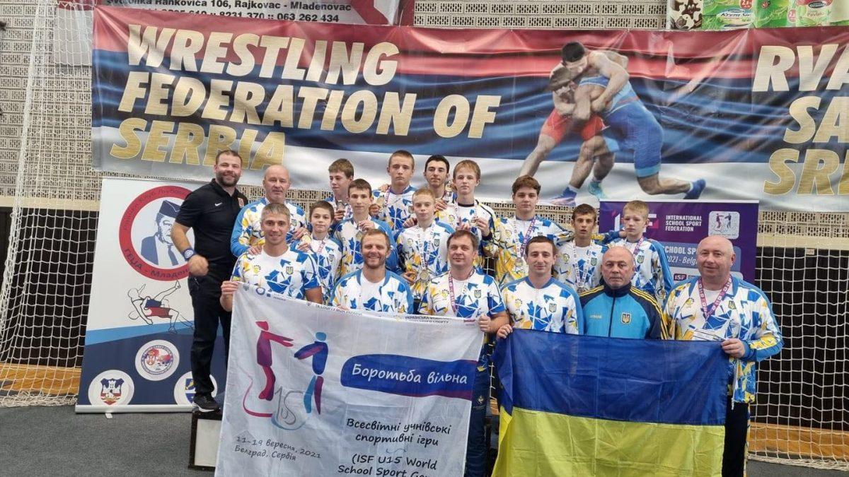 Українські вільники на Всесвітніх шкільних Іграх – 7 золотих та 3 срібні медалі!!!