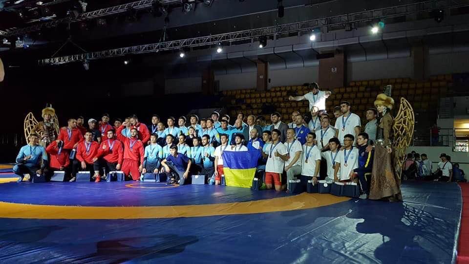 Українці гідно відборолись в Казахстані