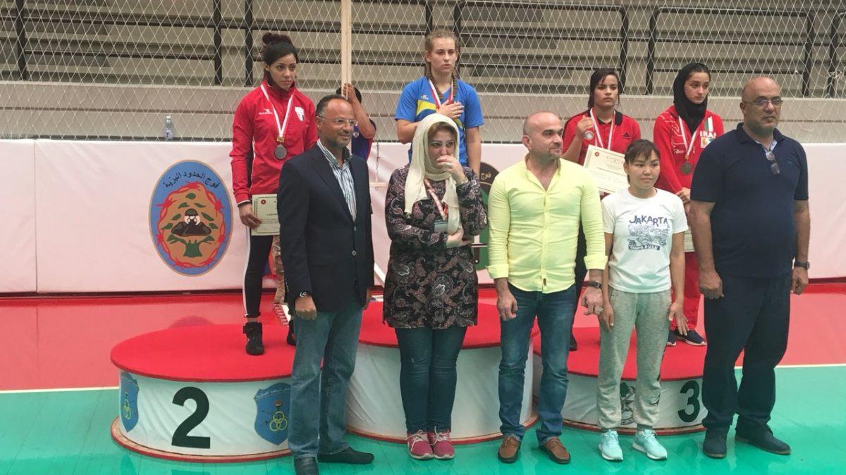 Три медалі з Бейруту