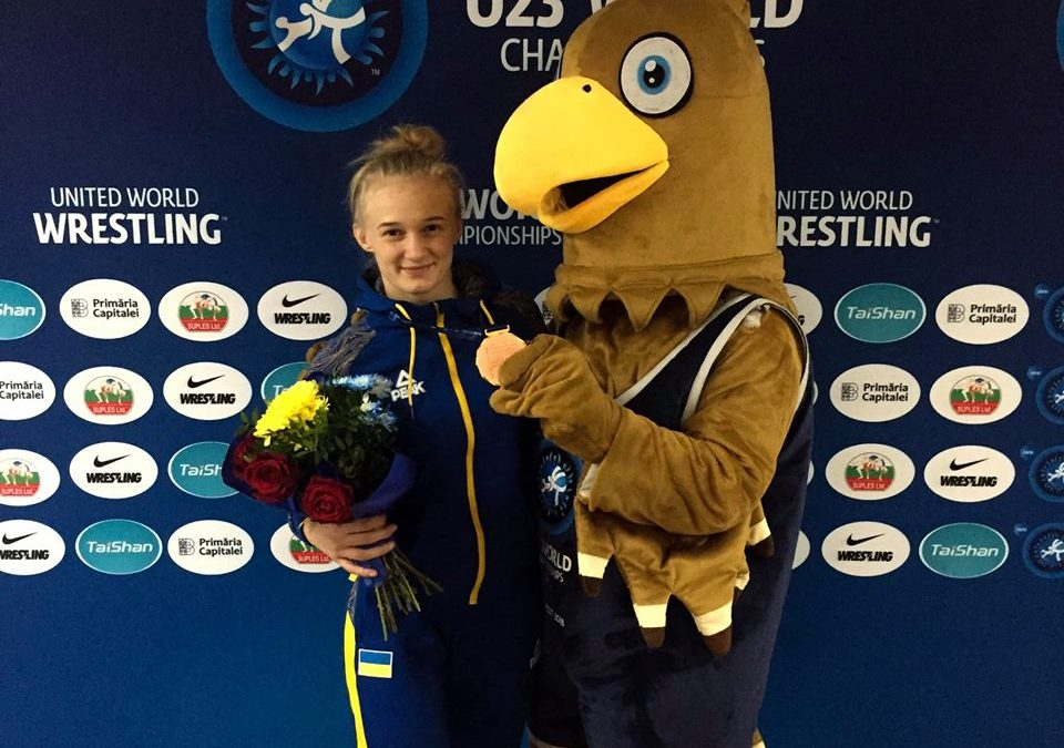"""Христина Береза: """"Мені ця медаль була дуже потрібна"""""""