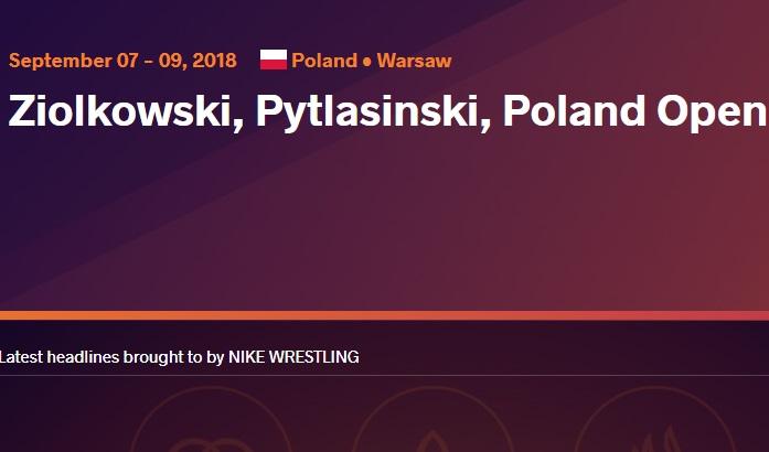 Склад команди на Open Poland