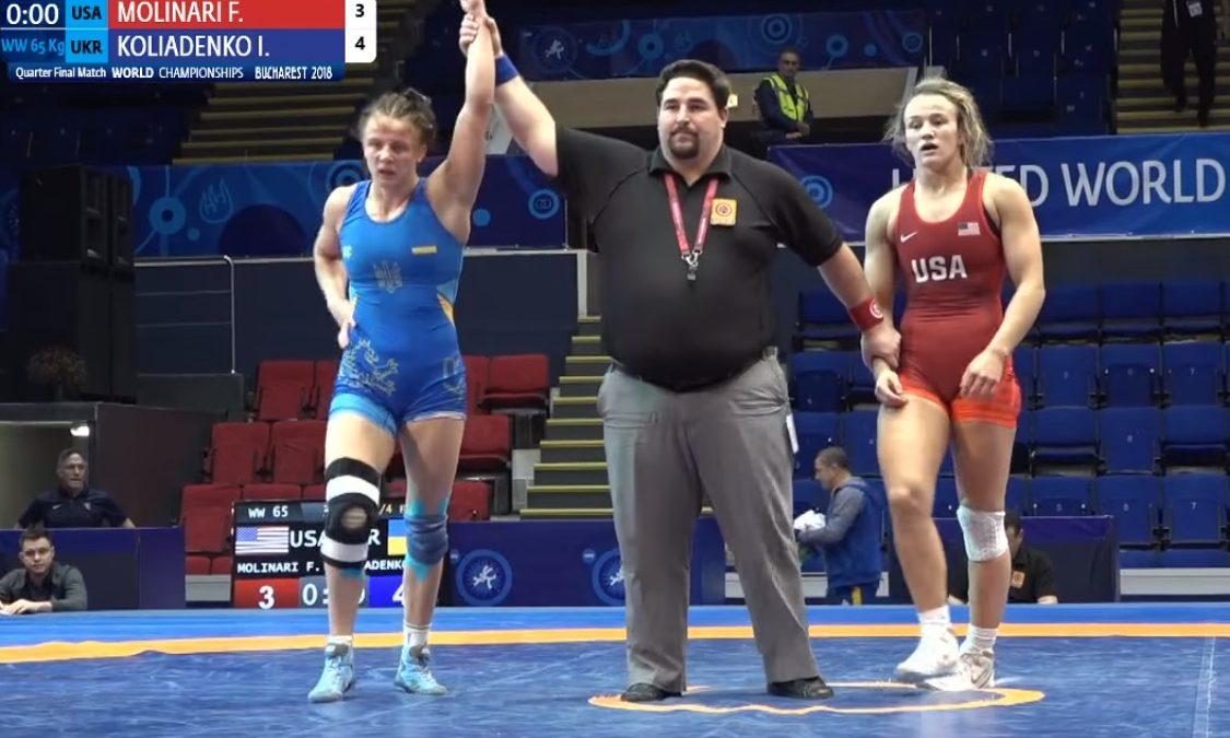 Бронза Ірини Коляденко – відео чемпіонат світу U 23