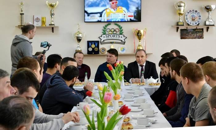 Ігор Жданов пообіцяв частіше спілкуватися зі спортсменами