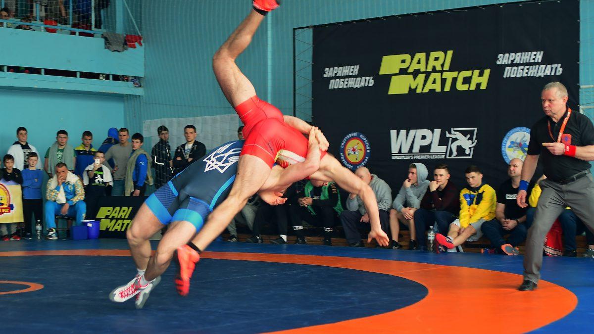 У Кривому Розі визначилися чемпіони України з греко-римської боротьби серед юніорів
