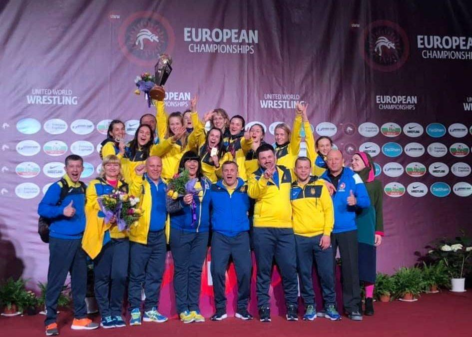 Жіноча збірна України – перша на чемпіонаті Європи!