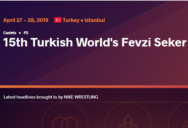 Turkish World's Fevzi Seker