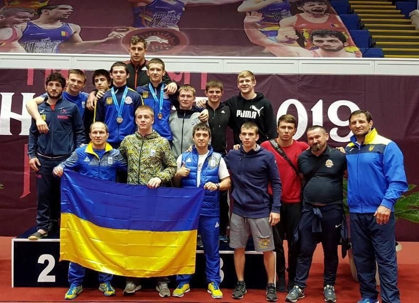 Юніори здобули п'ять медалей на турнірі в Румунії