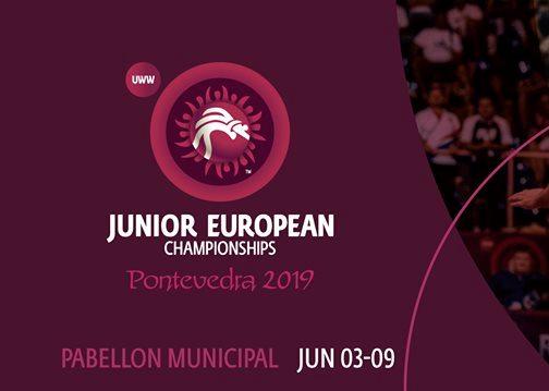 Склад команди на чемпіонат Європи серед юніорів