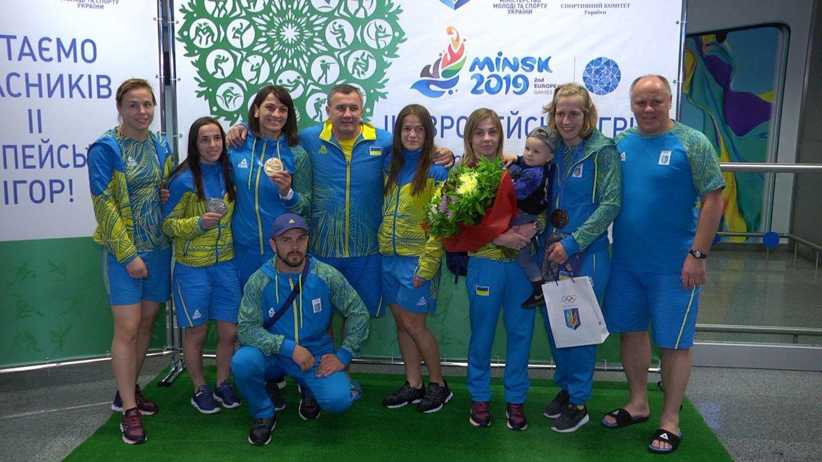 Найсильніша команда Європи повернулась на батьківщину з медалями