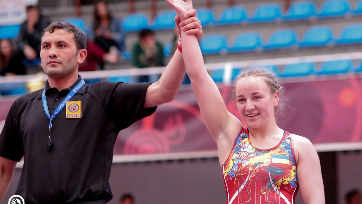 Анастасія Лавренчук – віце-чемпіонка Європи серед юніорів!