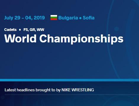 Склад команди на чемпіонат світу серед кадетів