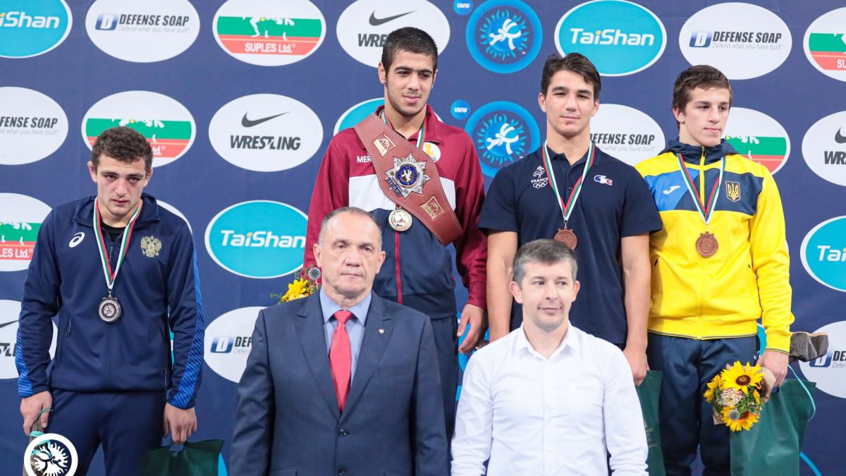 Денис Сагалюк – бронзовий призер кадетського ЧС