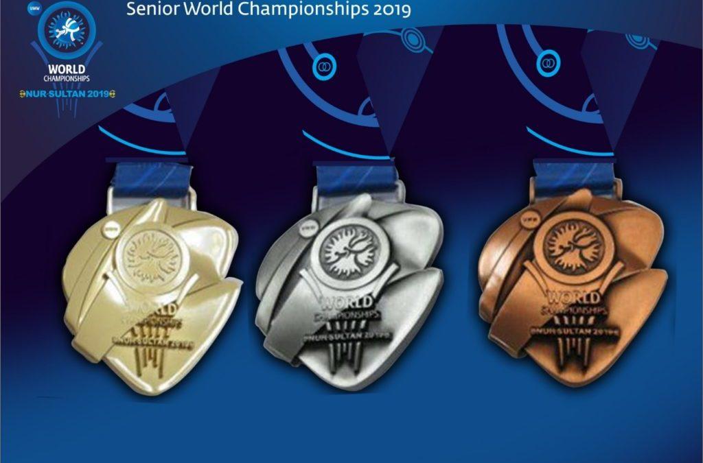 В Казахстані презентували медалі до Чемпіонату Світу