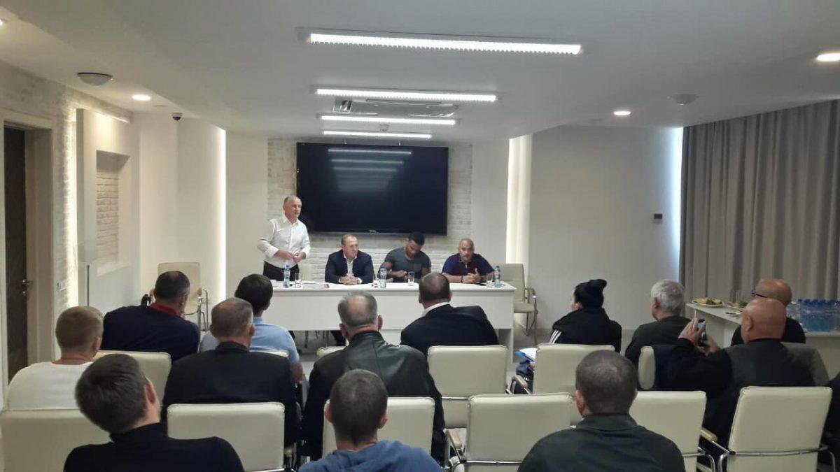 В Одесі відбулася вже четверта зустріч президента ФГРБУ з представниками областей